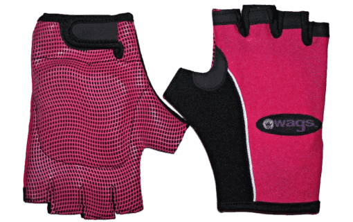 WAGs Pro fitness gloves in pink