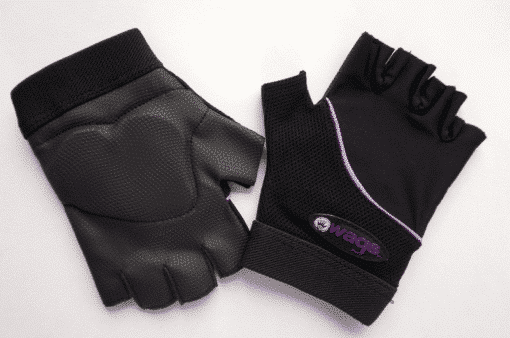 WAGs Flex fitness gloves in black