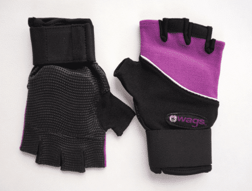 WAGs Ultra wrist support gloves in purple
