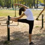 exercising-at-playground