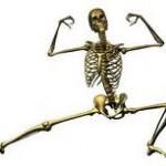 skeleton stretching