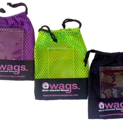 WAGs glove bags in multiple colors