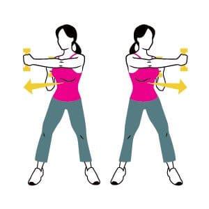 arm strengthening -cross-jab