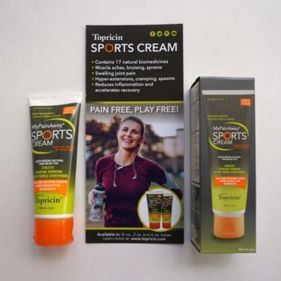 MyPainAway® Sports Cream and information from WAGs